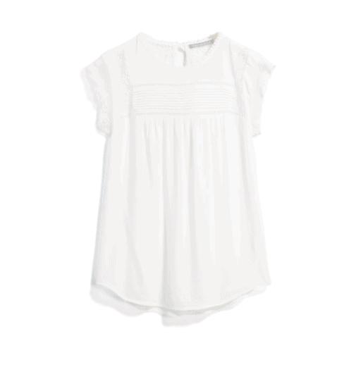 Stitch Fix White Lace Top