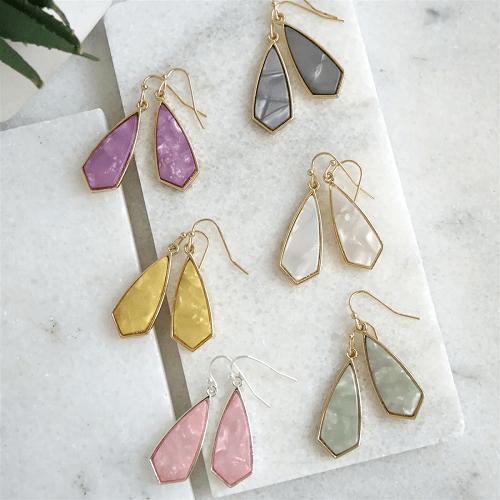 Spring Dainty Dangle Hook Earrings