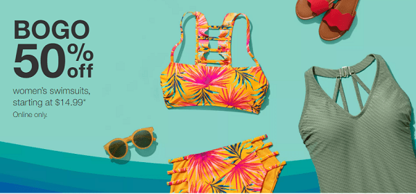 de860d9250 All Target Bathing Suits BOGO 50% Off! - Thrifty NW Mom