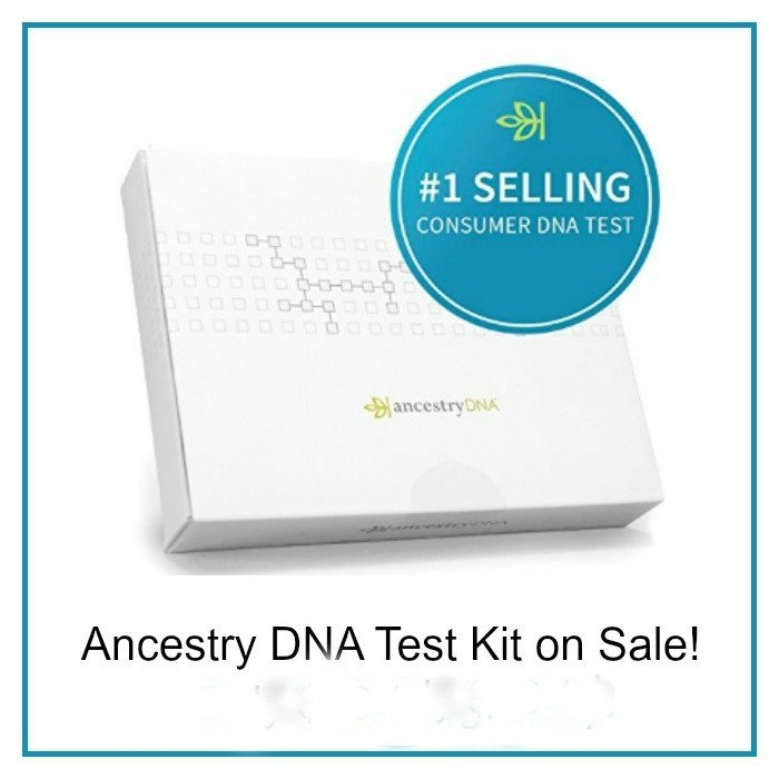 DNA Test Sale from Ancestry.com