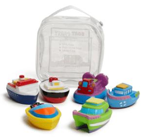Elegant Baby Squirtie Bath Toy Set