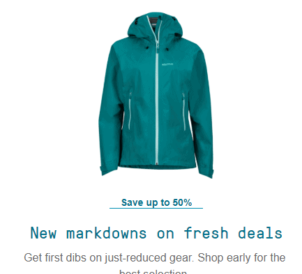 REI Garage (The REI Outlet Online) – Get An EXTRA 25% Off Outlet Prices!