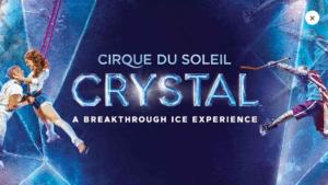 Cirque du Soleil Crystal Discount Tickets