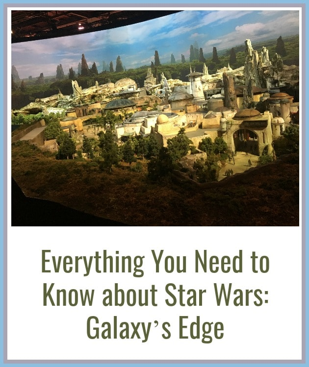 Everything You Need to Know about Star Wars Land Disneyland (Galaxy's Edge)