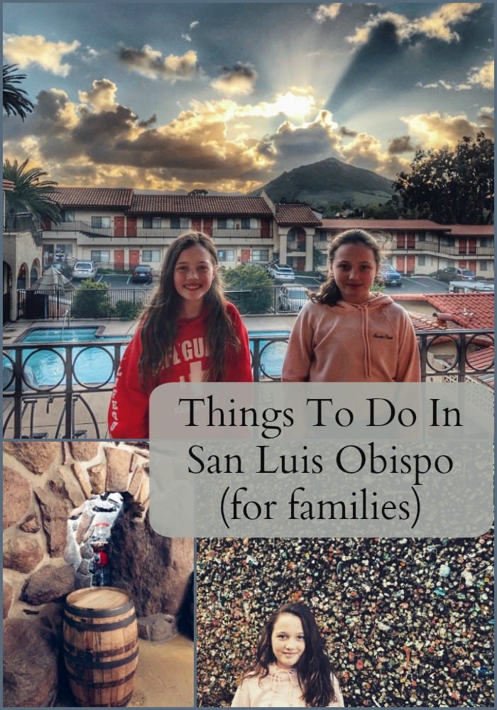 Things to Do in San Luis Obispo with your Family