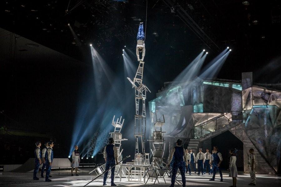 Balancing Act for Cirque du Soleil