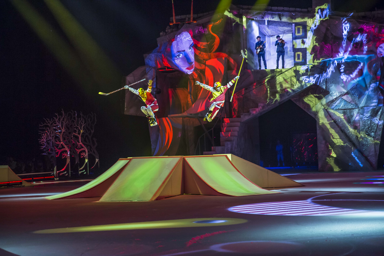 Cirque du Soleil Hockey Ramps
