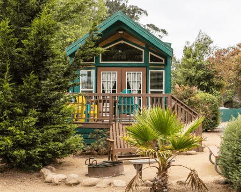 Koa cabin in Santa Cruz