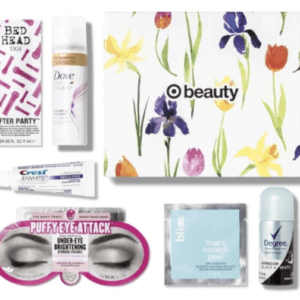 April Beauty Box from Target