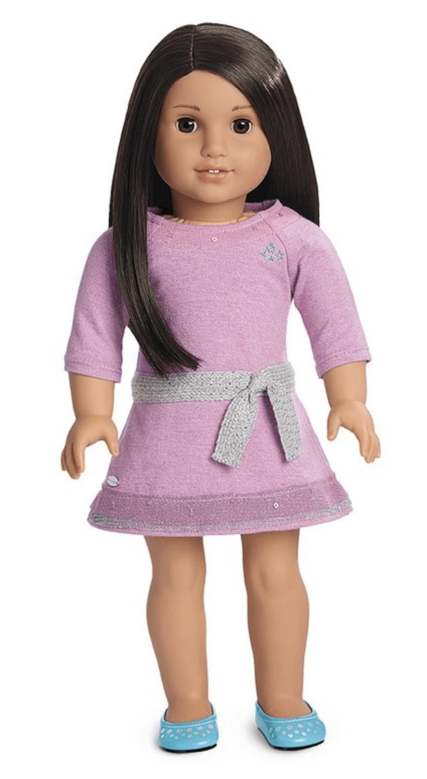 American Girl Doll Dress & Shoes