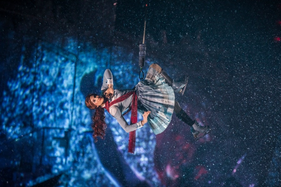 Crystal character of Cirque du Soleil Show on Ice
