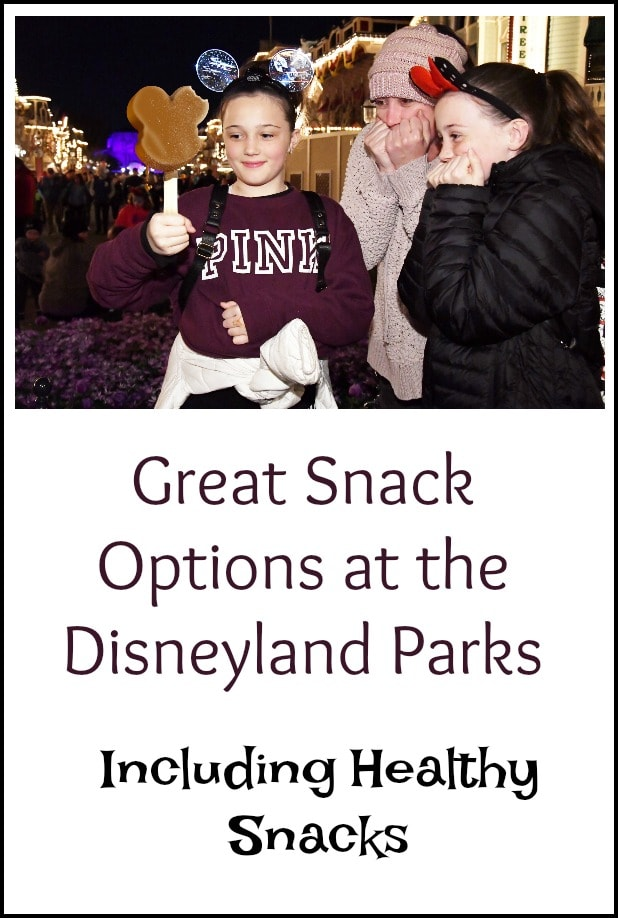 Great Disneyland Snack Options, Including Healthy Snack Food Options!