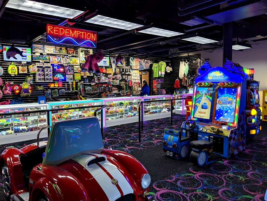 Arcade at Triple Play Resort