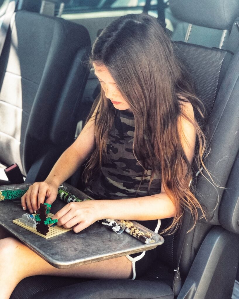 Building games for road trips