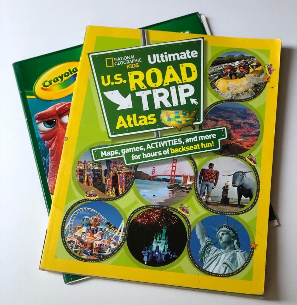 road trip atlas for kids