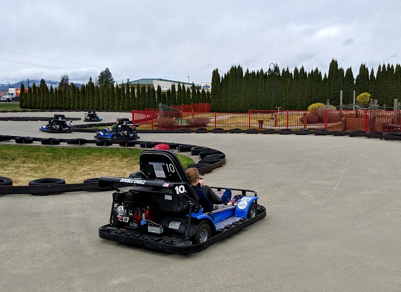Go Karts at Triple Play Resort