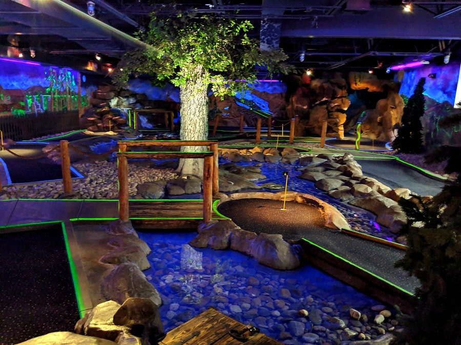 Indoor Mini Golf at Triple Play