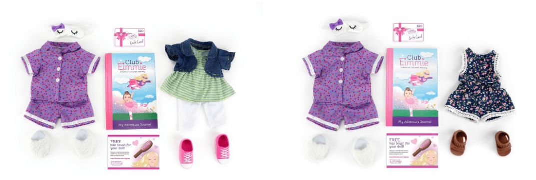 Club Eimmie – Subscription Box for 18 Inch Doll Clothes & More!