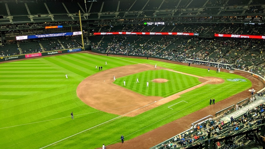 Mariners Game Tickets with Get Out Pass