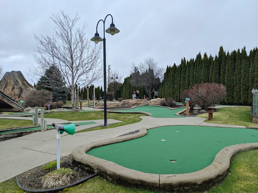 Mini Golf at Triple Play Resort