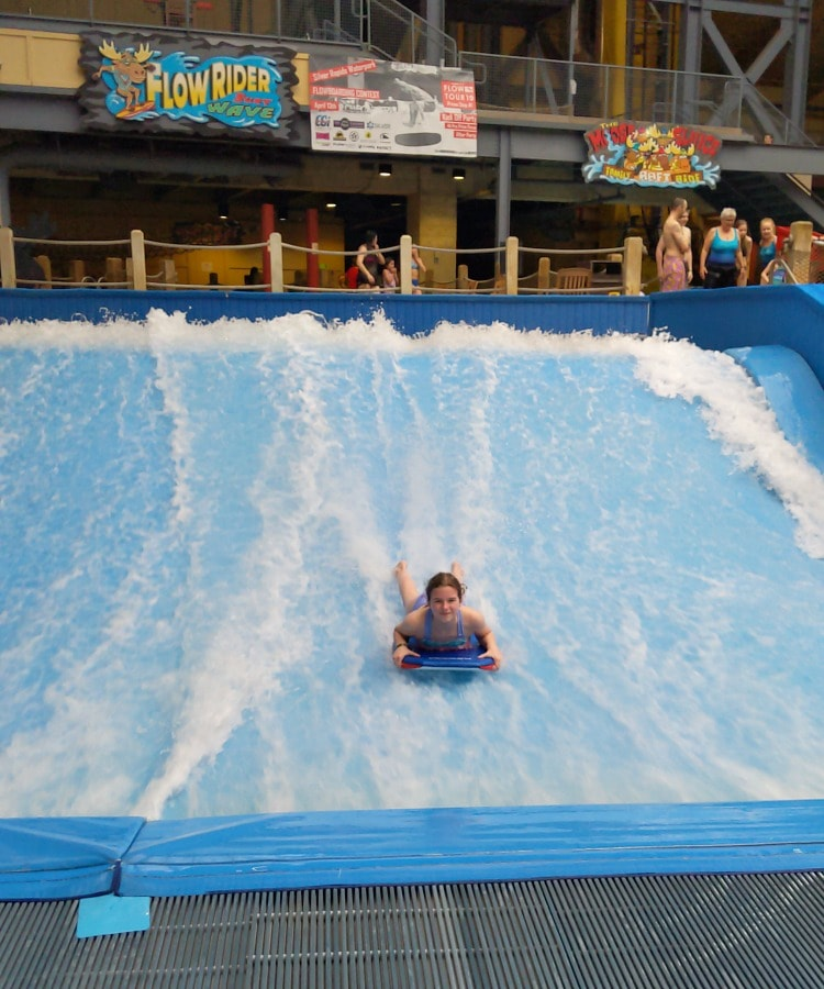 Riding the FlowRider Wave