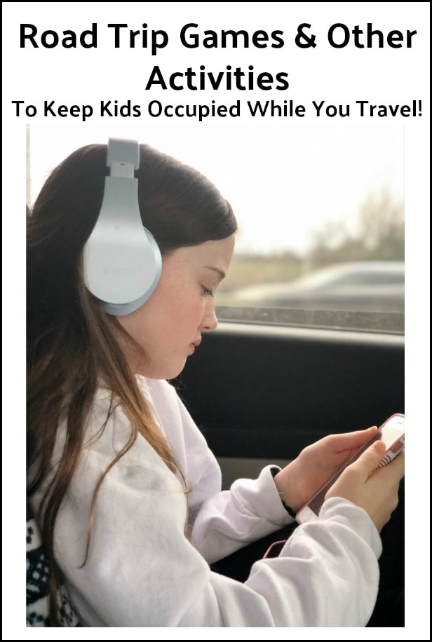 Road Trip Games and other activities to keep kids occupied while you travel