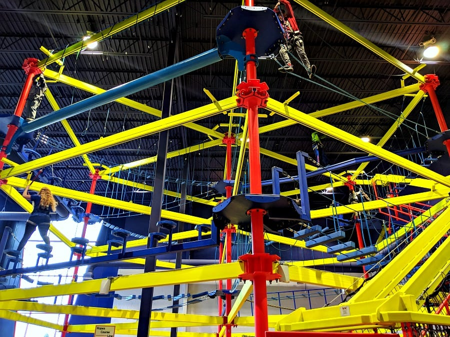 Ropes Course at Triple Play Idaho