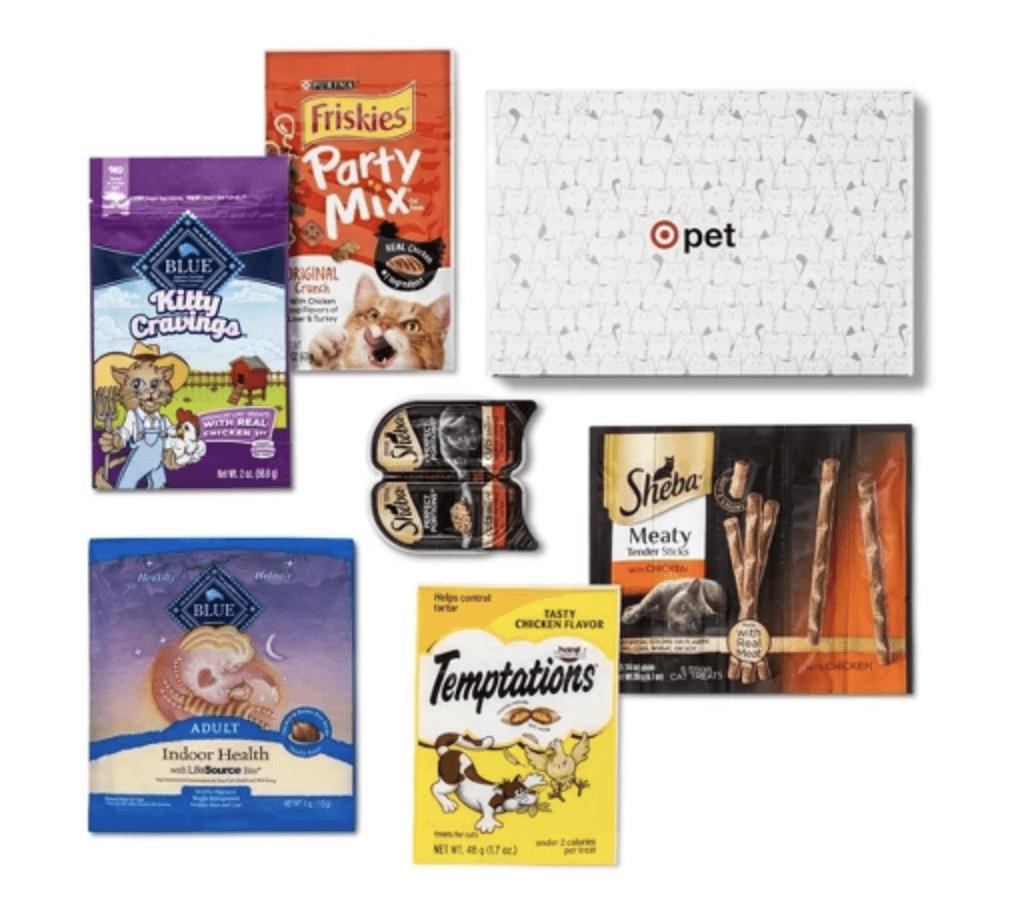 Target Cat Boxes