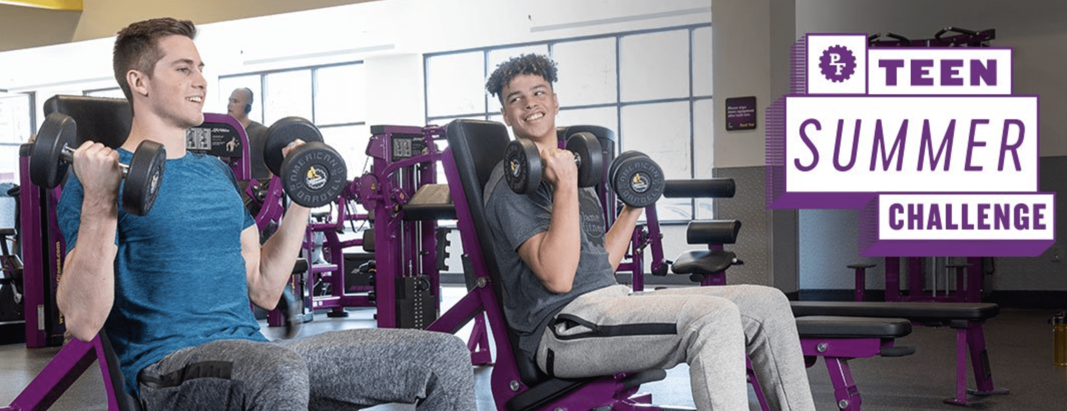 Planet Fitness Discount Teens workout for free