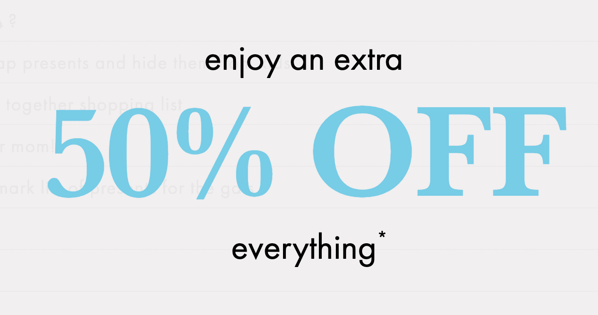 kate Spade Extra 50% off Sale