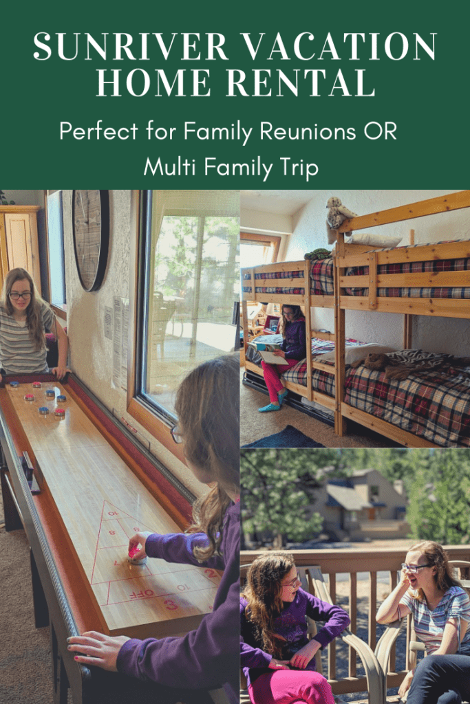 Sunriver Oregon Vacation Home Rental – Perfect for Family Reunions or Multiple Family Vacation! Plus 20% Off!