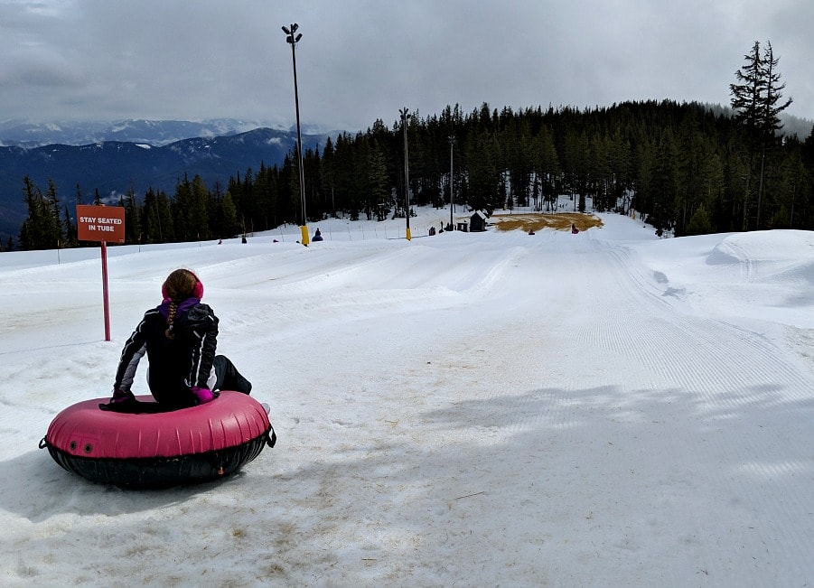 Tubing at Silver Mountain