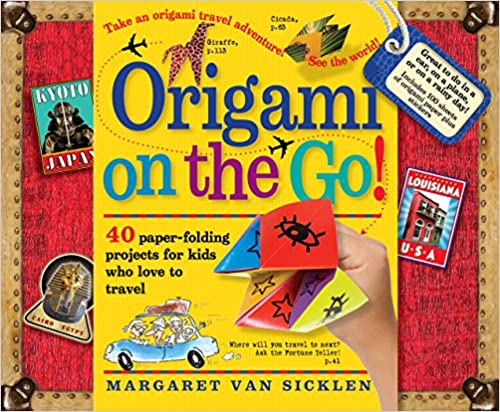 Origami on the go book