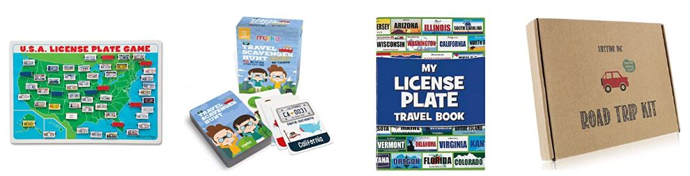 Sticker books for road trips