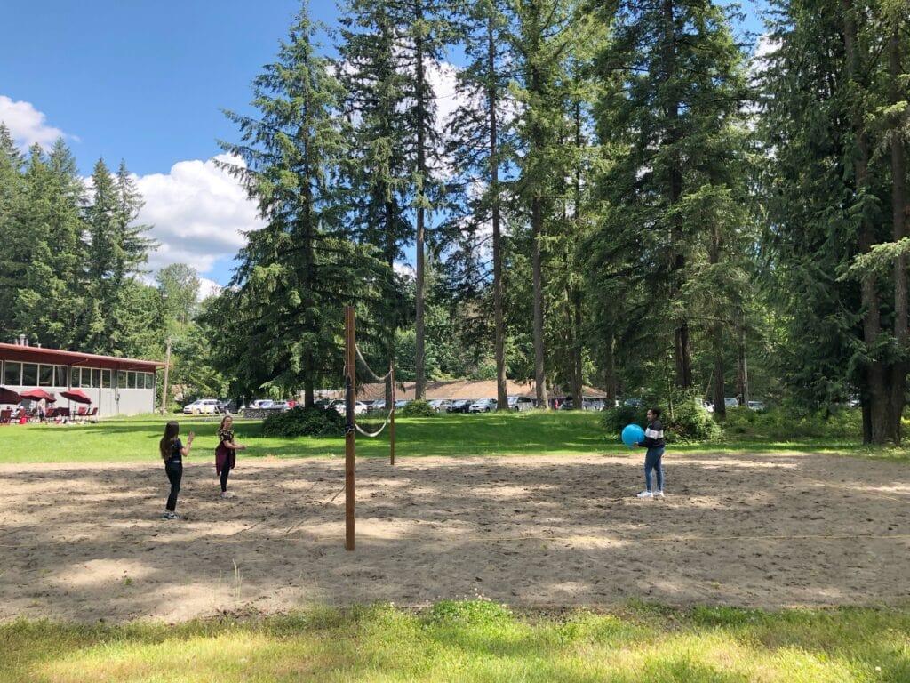 Black diamond camps play fields