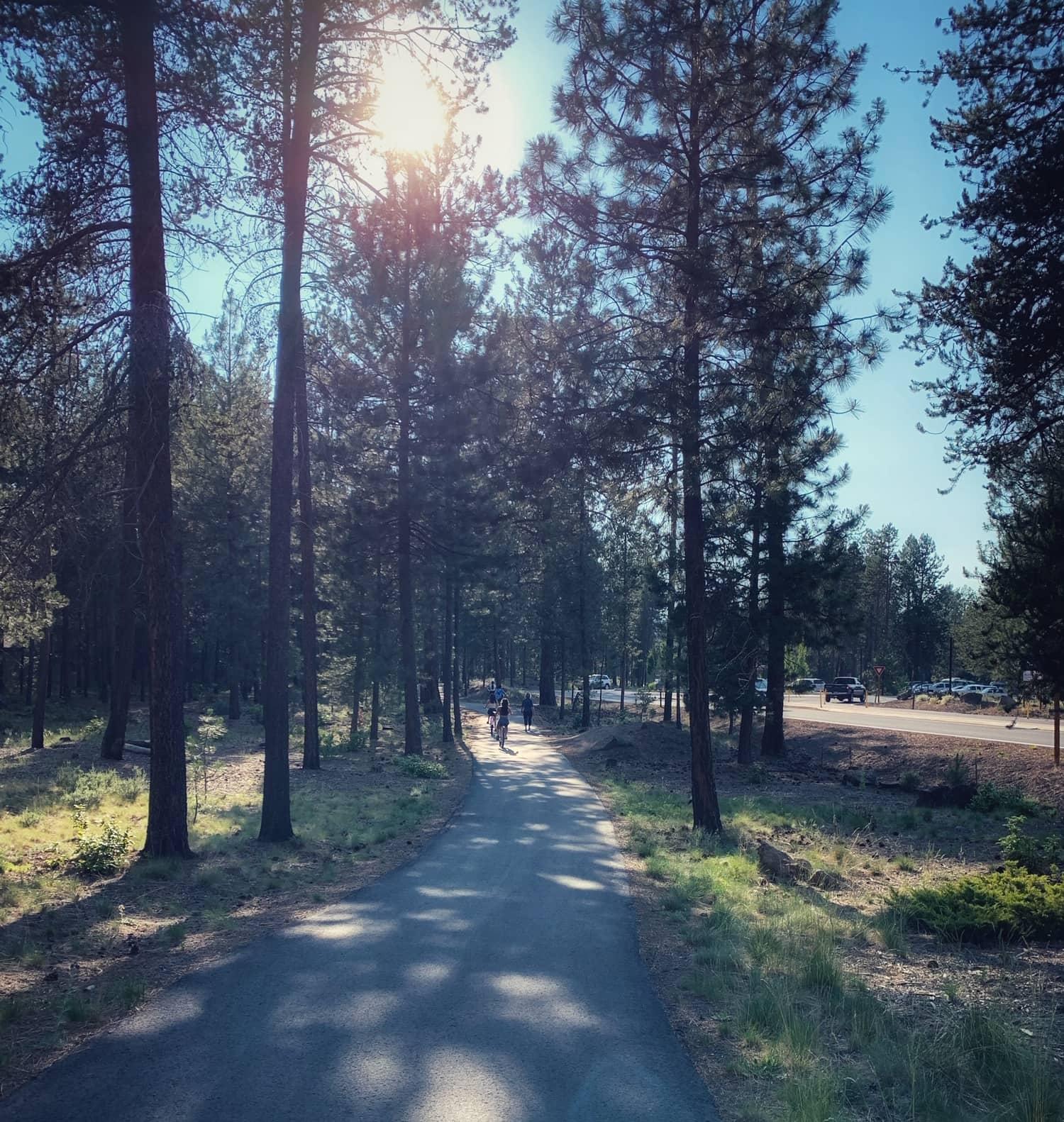 bike trails in sunriver