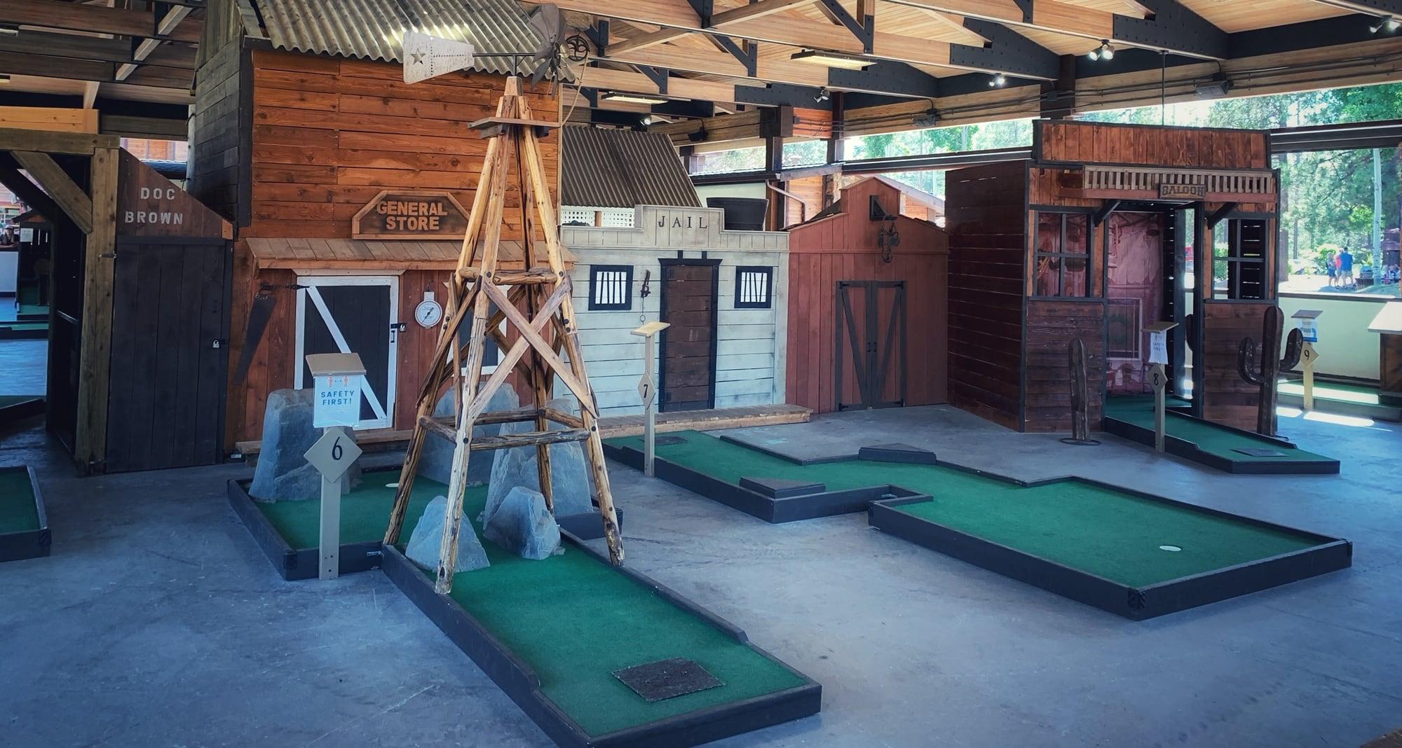 sunriver village putt putt golf