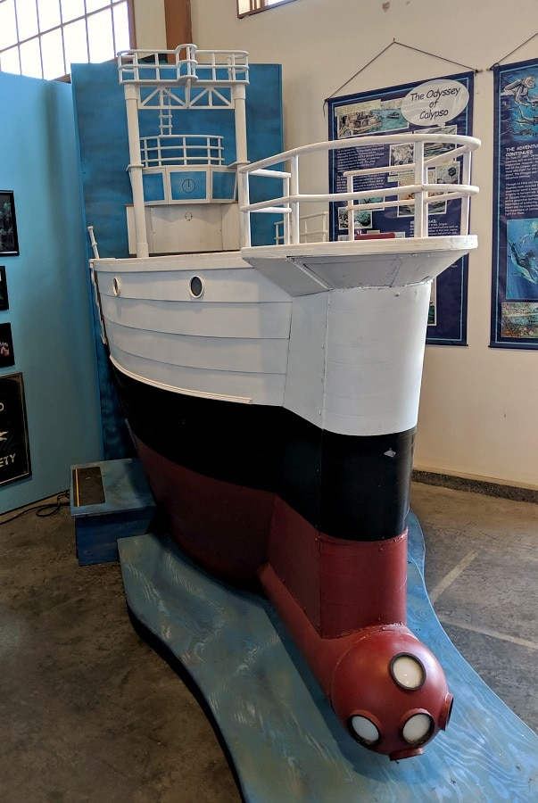 Boat for Kids to Play on at Foss Museum