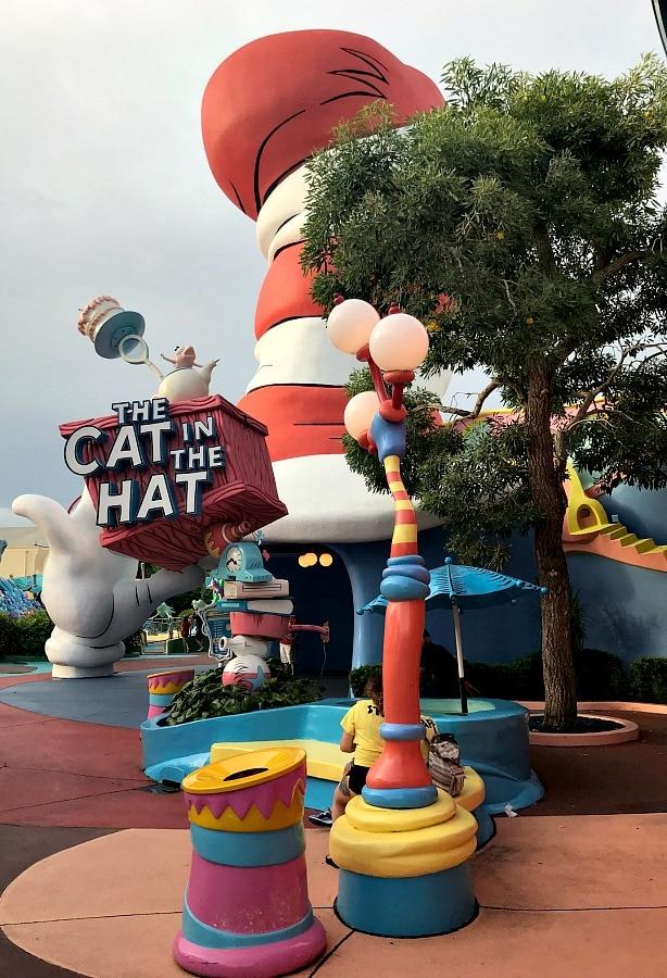 Dr Seuss land at Universal Studios Island of Adventure Orlando