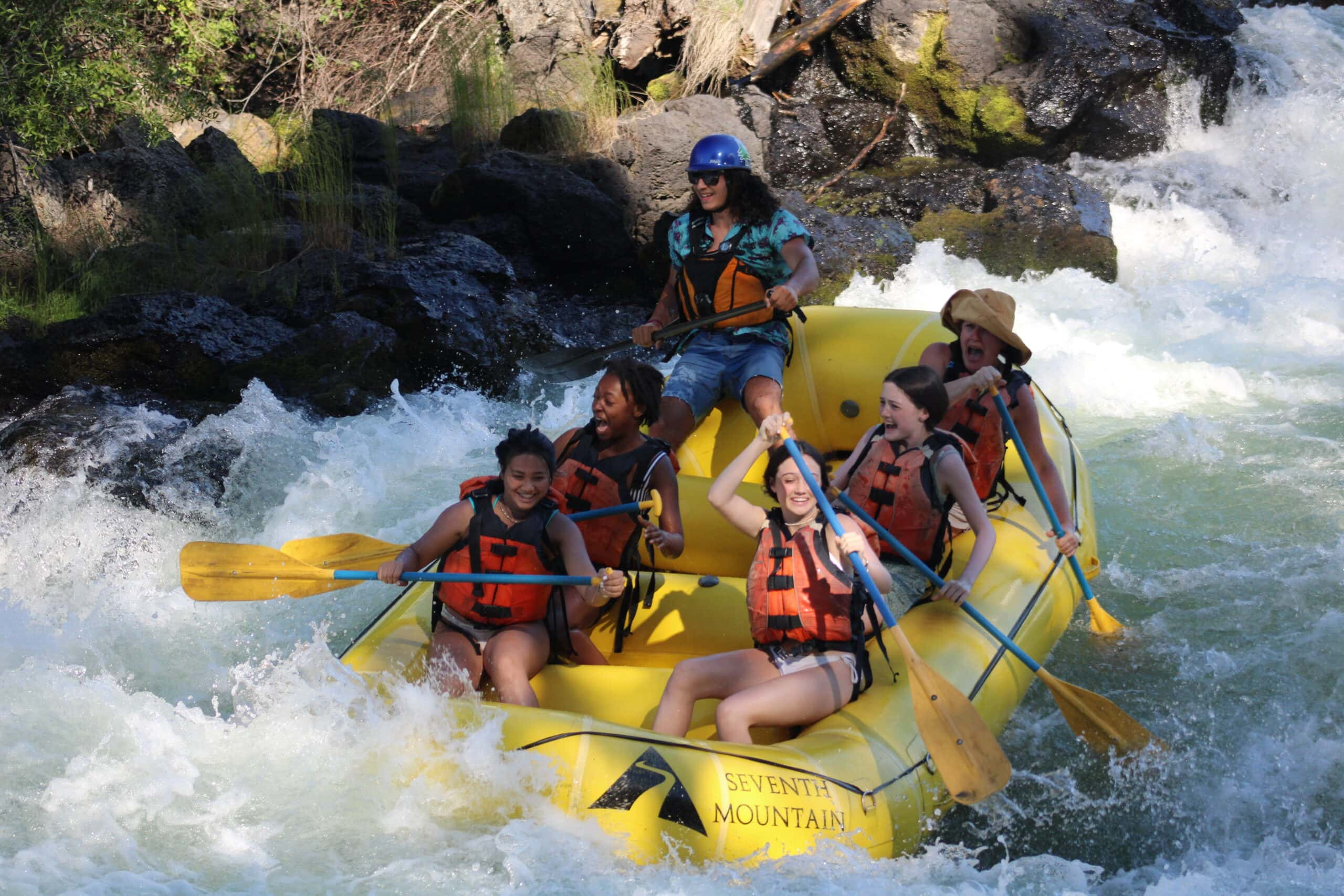 river rafting with Sun Mountain Tours