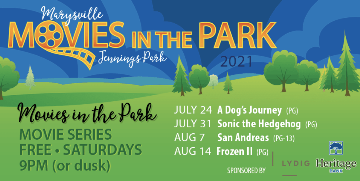 Movies in the Park in Marysville