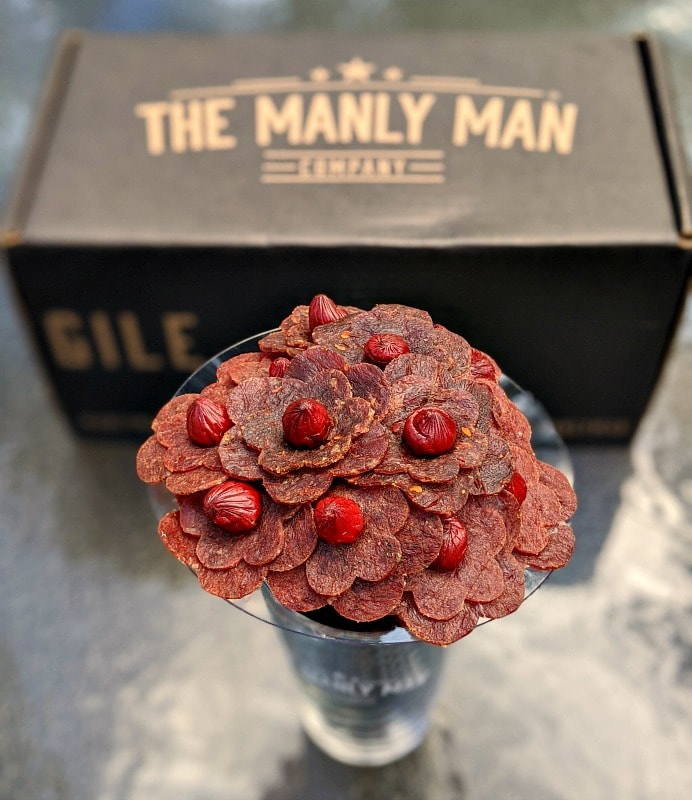 The Manly Man Beef Jerky Bouquet