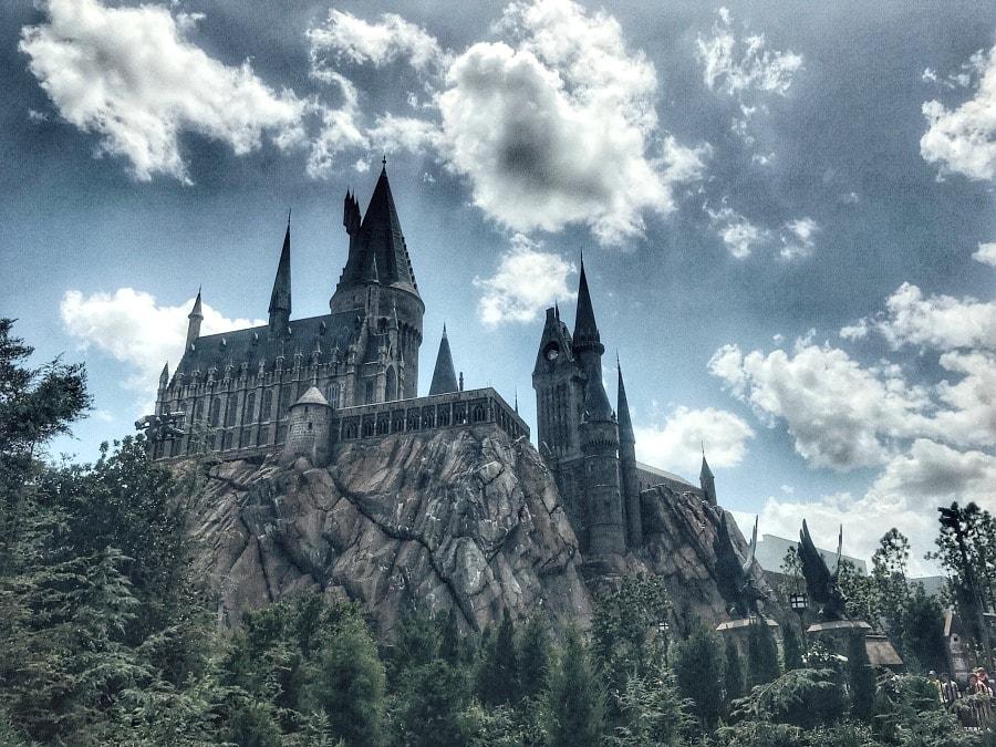 Universal Studios Orlando Harry Potter Castle