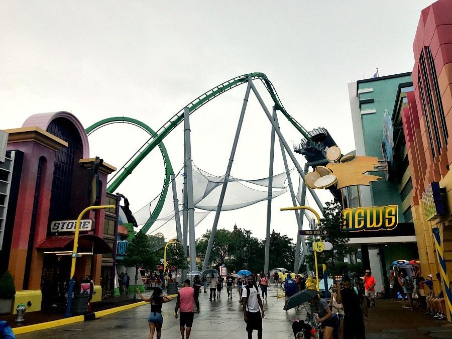 Universal Studios Orlando Islands of Adventure Roller Coasters