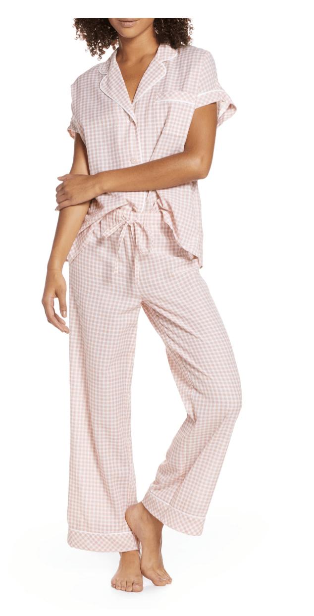 Madewell Gingham Pajamas