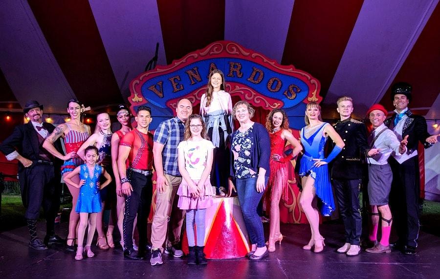 Venardos Circus Photo Opp