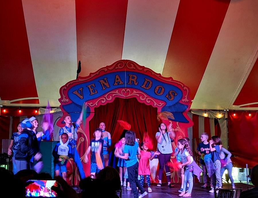 Venardos Circus Pre Show