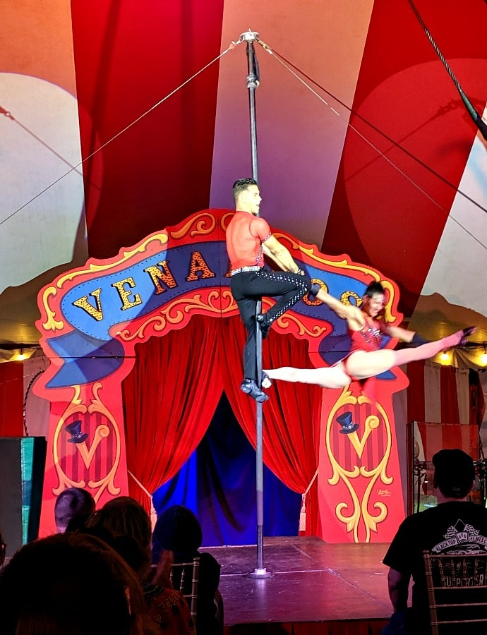 Acrobatic Family with Venardos Circus