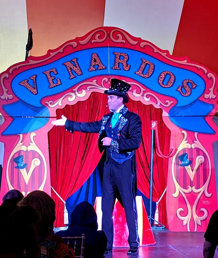 Vendardos Circus Ringmaster & Founder
