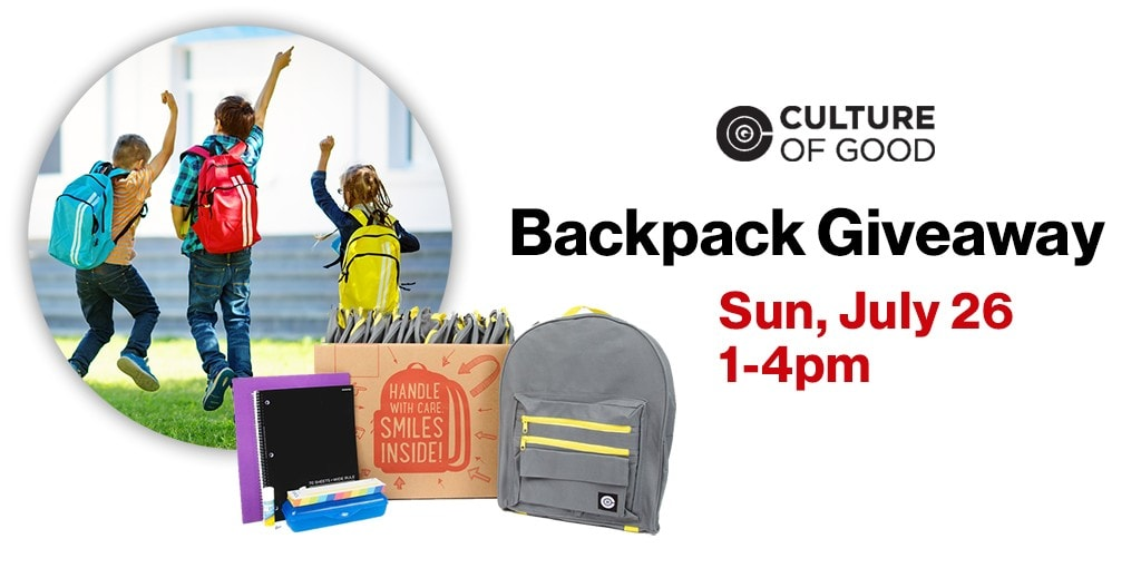 Free Backpacks with School Supplies for Kids – July 26 at Verizon & Cellular Connection Stores